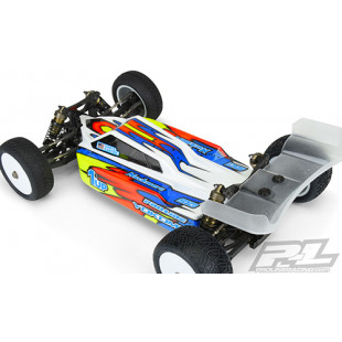 Pro-Line Axis Light Weight Buggy Clear Body w/ 6.5inch Aero Wing For Yokomo YZ-4