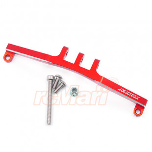 Samix Aluminum Front / Rear 4 Link Mount Red For Axial SCX10 AX10