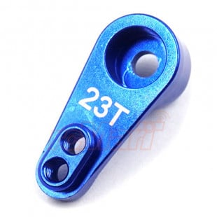 Hot Racing Aluminum 23T Servo Arm Blue For 1/10 Losi Baja Rey Rock Rey