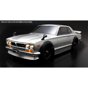 ABC Hobby NISSAN Skyline HT2000 GT-R KPGC10 190mm Body w/Chrome Parts For 1/10 RC Touring