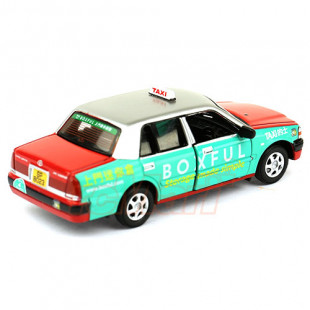 Tiny City 72 1/64 Toyota Crown Comfort Hong Kong Taxi Red Boxful