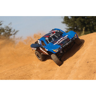 Traxxas Slash VXL LCG FOX Edition 1/10 RTR 2WD Short Course Truck w/ TSM, TQi,  Link Enabled, 2.4GHz Radio
