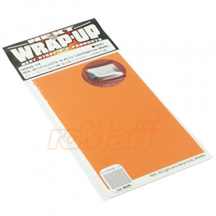 Wrap Up Next REAL 3D Light Lens Decal Orange 130x75mm Line Middle