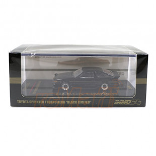 Inno64 1/64 Toyota Sprinter Trueno AE86 Black Limited Diecast Scale Model Car