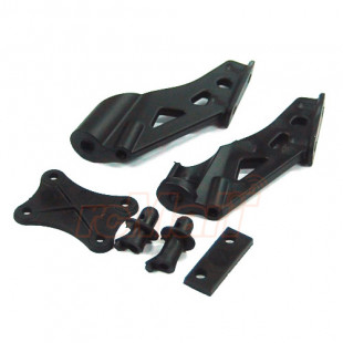 LC Racing LC RACING Wing Mount Set For EMB-1 / EMB-MT