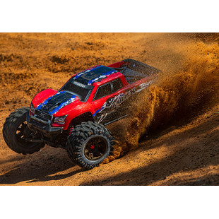 Traxxas X-Maxx 8S 1/5 4WD Brushless RTR Monster Truck RedX Edition w/2.4GHz TQi Radio & TSM