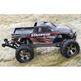 Traxxas Stampede 4X4 VXL 1/10 4WD RTR Monster Truck w/ TQi  Link Enabled 2.4GHz Radio System & TSM